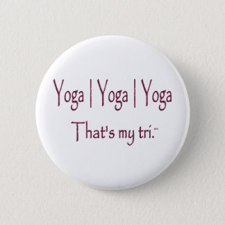 Yoga | Yoga | Yoga 6 Cm Round Badge