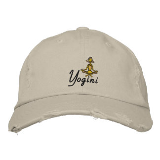 Yoga Yogini Embroidered Embroidered Hats