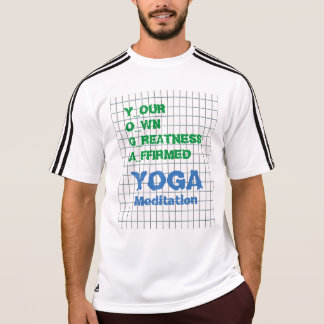 YOGA Your Own Greatness Affirmed Quote Wisdom Text T-Shirt