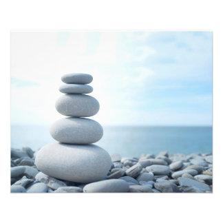 Yoga Zen Nature Meditation massage Flyer