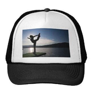 yoga, zen & peace mesh hat