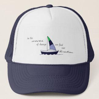 "YogaSoulShine ""Sailboat"" Trucker Hat"