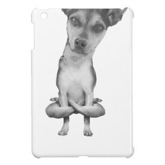 Yogi Doggie cute dog in yoga asana, cool funny Cover For The iPad Mini
