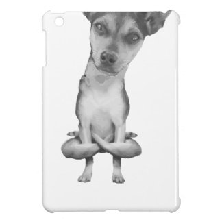 Yogi Doggie cute dog in yoga asana, cool funny iPad Mini Cases