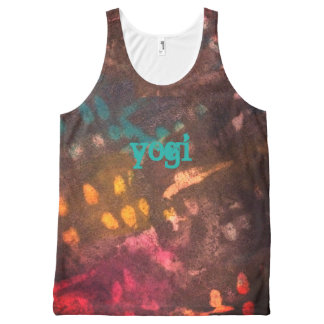 Yogi grunge All-Over print singlet