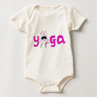Yogic Bunny Baby Bodysuit