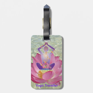 Yogic Traveller Luggage Tag