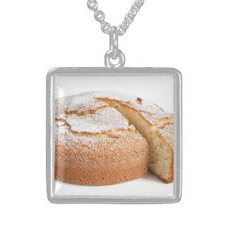 yogurt cake sliced necklace