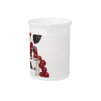 yogurt fresh berries pitcher