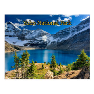 Yoho National Park, British Columbia Postcard
