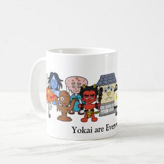 Yokai are Everywhere: Custom Japanese Monster Coffee Mug