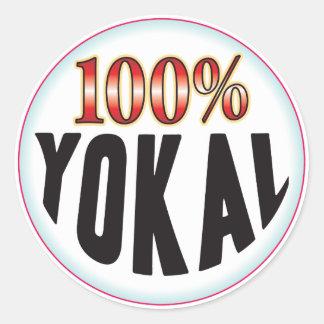 Yokal Tag Round Sticker