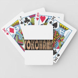 yokohama1855 bicycle playing cards