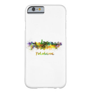 Yokohama skyline in watercolor barely there iPhone 6 case