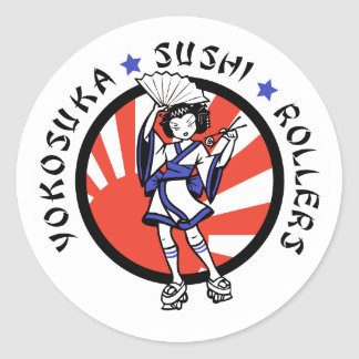 Yokosuka Sushi Rollers Stickers