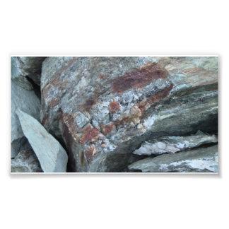 Yolly Bolly Ca Geology Rocks Earth History Stone Photo Print