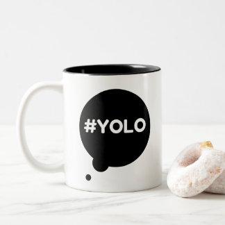 YOLO black 325 ml  Mug