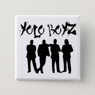 YOLO BOYZ 15 CM SQUARE BADGE