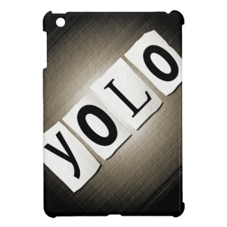 YOLO concept. Case For The iPad Mini