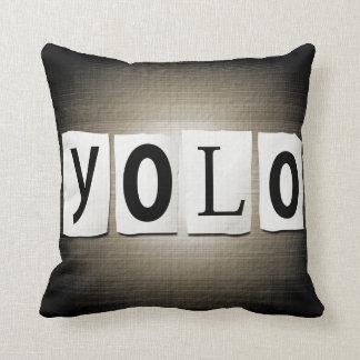 YOLO concept. Cushion