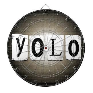 YOLO concept. Dartboard