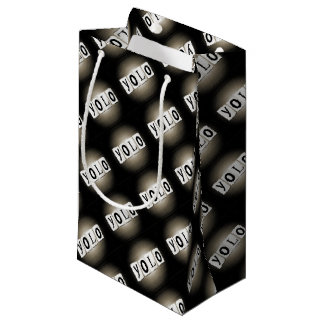 YOLO concept. Small Gift Bag