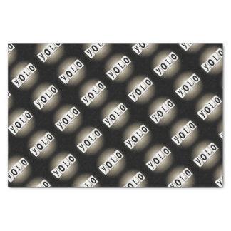 YOLO concept. Tissue Paper