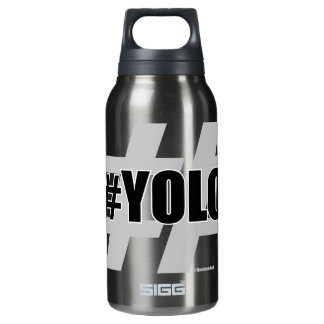 YOLO Hashtag Insulated Water Bottle