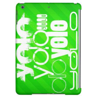 Yolo; Neon Green Stripes