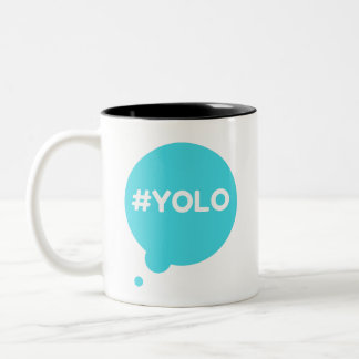 YOLO teal 325 ml  Mug