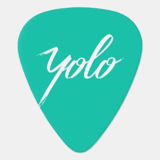 YOLO Turquoise Plectrum