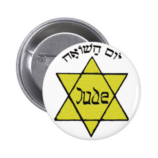 Yom HaShoah 6 Cm Round Badge
