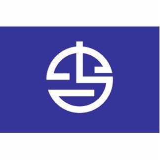 Yonaguni, Okinawa, Japan flag Photo Cut Out
