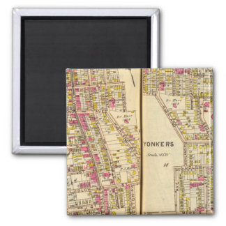 Yonkers, New York 11 Square Magnet