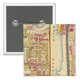 Yonkers, New York 14 15 Cm Square Badge