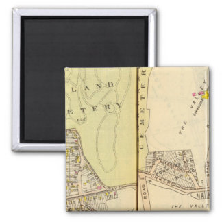 Yonkers, New York 20 Square Magnet