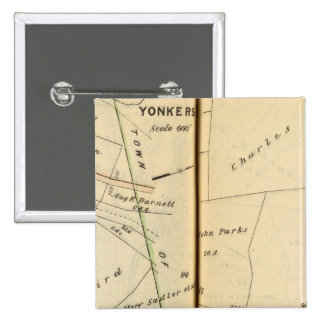 Yonkers, New York 5 15 Cm Square Badge