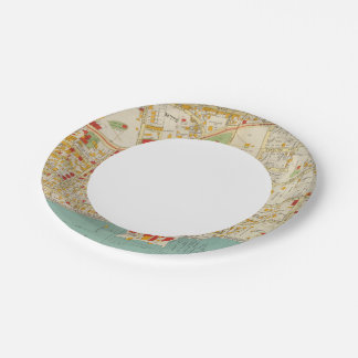 Yonkers New York 7 Inch Paper Plate