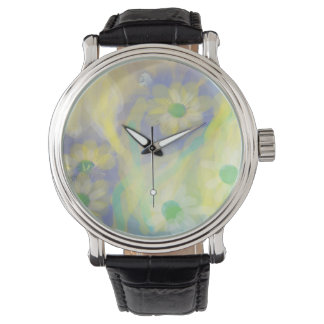 "Yop Quality ""Daisy Design"" Designer's watch"