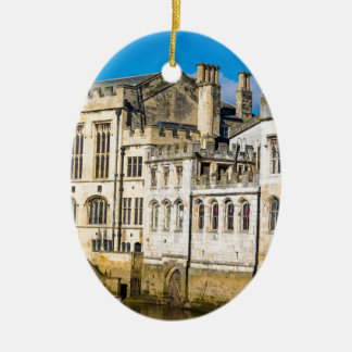 York City Guildhall river Ouse Ceramic Ornament