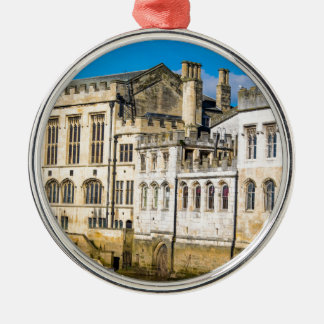 York City Guildhall river Ouse Metal Ornament
