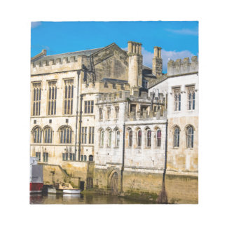 York City Guildhall river Ouse Notepad