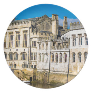 York City Guildhall river Ouse Plate
