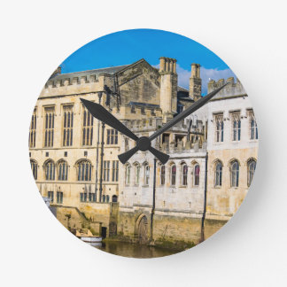 York City Guildhall river Ouse Round Clock