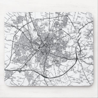 York City Old Map Mousepad