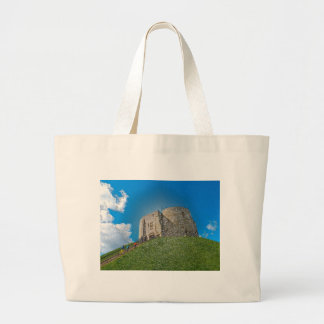 York, Cliffords tower in plastic Canvas Bag