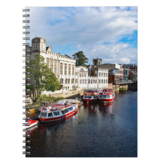 York Guildhall and river Ouse Notebooks