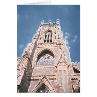 York Minster a Card