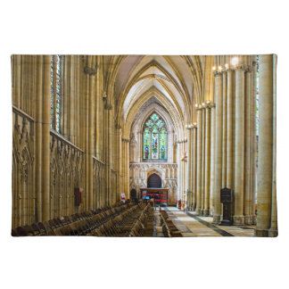 York Minster from inside. Placemat