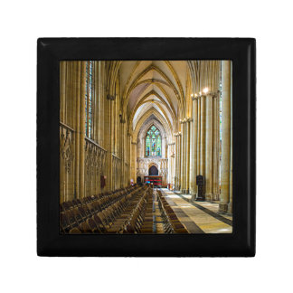 York Minster from inside. Small Square Gift Box